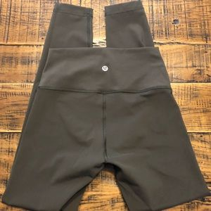 "Lululemon Wunder Under high rise tight 25"" tight"